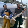 Me with a small Blue Shark
